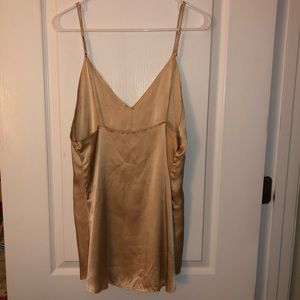 ARE YOU AM I Dresses - SOLD Gold Are You Am I Zillah Dress